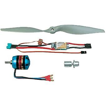 Model aircraft brushless motor Multiplex 332649 Compatible with: Multiplex FunCub