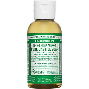 Dr Bronner 18-in-1 Hemp Almond Pure-Castile Soap
