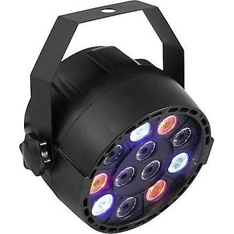 LED PAR stage spotlight Eurolite LED PARTY SPOT No. of LEDs: 12 x 1 W