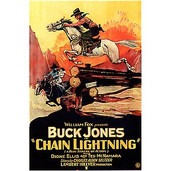 Chain Lightning Movie Poster Print (27 x 40)