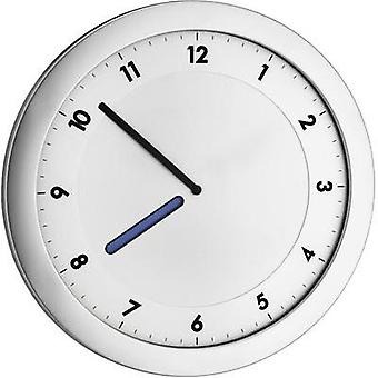 Quartz Wall clock TFA 60.3027.54 28 cm x 15 mm x 1.5 cm Metallic silver