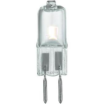HV halogen 41 mm Sygonix 12 V G6.35 16 W Warm white EEC: B Pin base dimmable 1 pc(s)