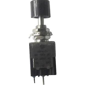 Pushbutton switch 250 Vac 3 A 1 x On/Off SCI PA101A1 BLACK latch 1 pc(s)