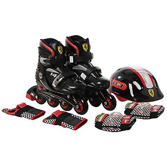 Ferrari In September inline skates with protectors B 29-32 (Outdoor , On Wheels , Skates)