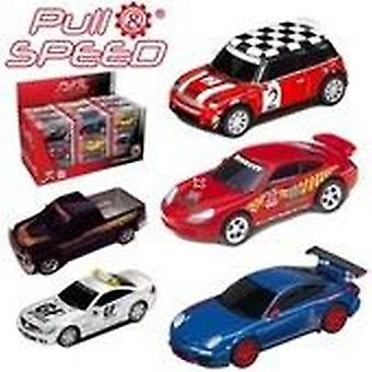 Career Pull & speed Mixed Cars Ii scale 1:43