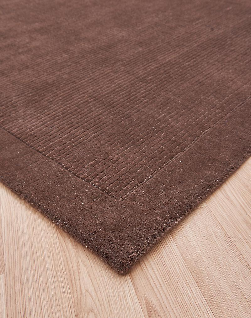 York York-Taupe Ligt brown  Rectangle Rugs Plain/Nearly Plain Rugs