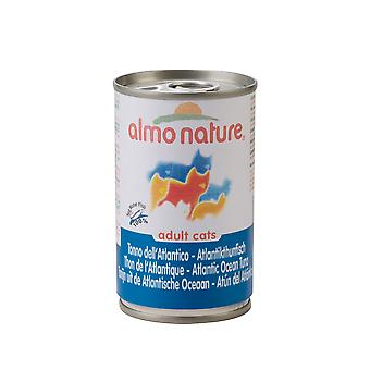 Almo Nature Cat Adult Atlantic Tuna 140g (Pack of 24)