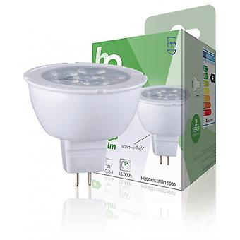 HQ LED-lampa MR16 GU5.3 4 W 250 lm 2 700 K