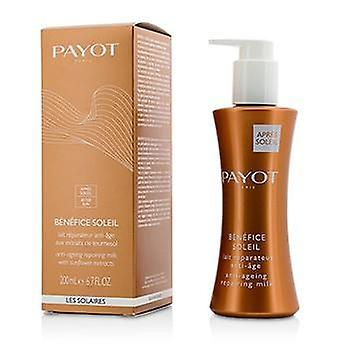 Payot Benefice Soleil Anti-Aging Repairing Milk (For Face & Body) - 200ml/6.7oz