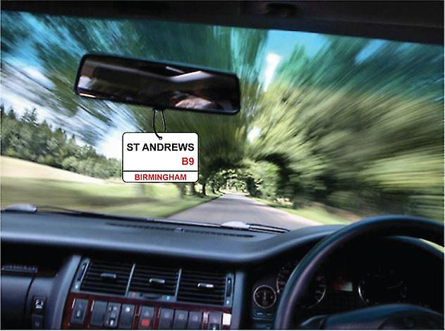 Birmingham City / St Andrews Street Sign auto deodorante