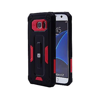 32nd hårdt Defender tilfældet for Samsung Galaxy S7 (SM-G930) - rød