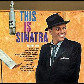 Frank Sinatra - This Is Sinatra Vol2 [Vinyl] USA import