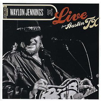 Waylon Jennings - Live From Austin Tx [CD] USA import