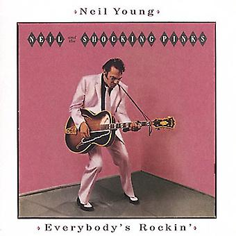 Neil Young - Everybody's Rockin' [CD] USA import