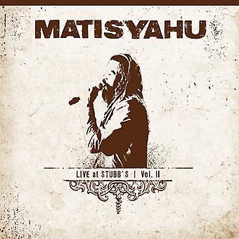 Matisyahu - Matisyahu: Vol. 2-Live at Stubbs [CD] USA import