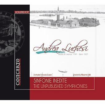 Luchesi - ikke-offentliggjorte Syms [CD] USA importerer