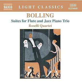 C. Bolling - Bolling: Suites for Flute and Jazz Piano Trio [CD] USA import
