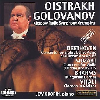Vitali/Mozart/Beethoven-Ciacona/Con Vn & Orch/Con Vn & Vc [CD] USA import