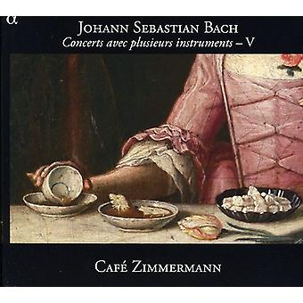 J.S. Bach - Bach: Koncerter Avec Plusieurs instrumenter, Vol. 5 [CD] USA import
