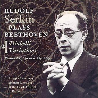 Larsen Beethoven - Rudolf Serkin spiller Beethoven [CD] USA import