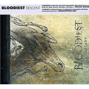 Blodigste - afstamning [CD] USA importerer