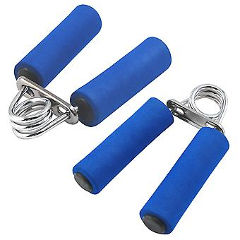 TRIXES 2 X Hand Gripper Pair Heavy Grip Exercise Fitness Body Building Bar