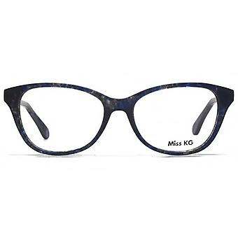 Miss KG Delia Preppy Cateye Gläser In blau Demi