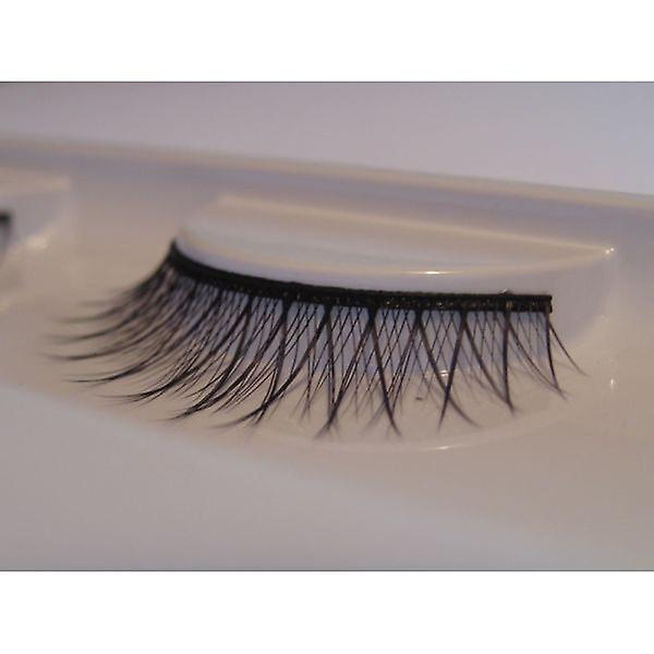 W.A.T Black Synthetic Smokey False Eyelashes