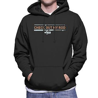 Check Out mijn staaf mannen Hooded Sweatshirt