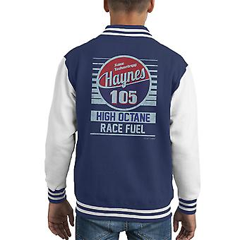 Haynes 105 High Octane Race Fuel Kid's Varsity Jacket