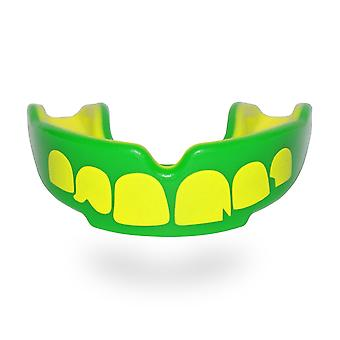 SAFE JAWZ Ogre- Green/Yellow Mouth Guard