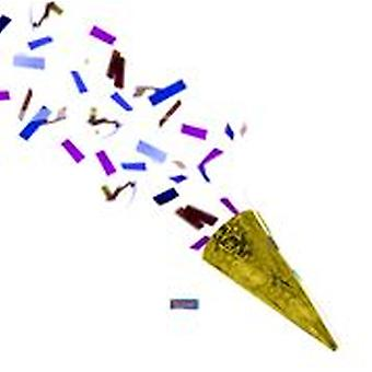 Partyshooter confetti shooter party crackers gold