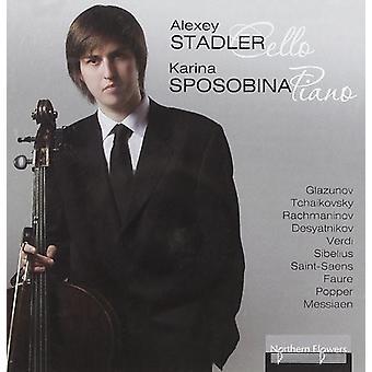 Stadler / Sposobina - Alexey Stadler Cello - Karina Sposobina [CD] USA import