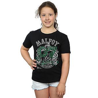 Harry Potter dziewczyny Draco Malfoy Seeker T-Shirt