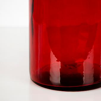 Wellindal Botellon 75 Cm Cristal Rojo (Home , Decoration , Vases)