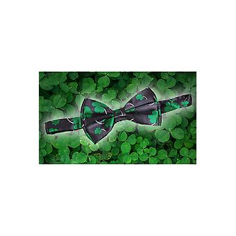 Bows and ties  Bow tie with clover pattern