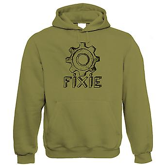 Fixie, Mens Cycling Hoodie (S to 5XL)