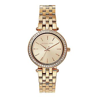 Michael Kors Watches Mk3366 Darci Rose Gold Tone Stainless Steel Ladies Watch
