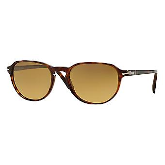 Persol 3053S wide scale Brown polarized gradient