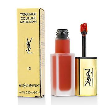 Yves Saint Laurent Tatouage Couture Matte Fleck - # wahre Orange - 6ml/0,2 oz
