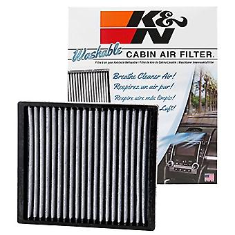 K&N VF2013 Washable & Reusable Cabin Air Filter Cleans and Freshens Incoming Air for your Dodge, Jeep, Ram, Chrysler