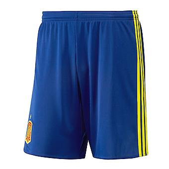 2016-2017 Spain Home Adidas Football Shorts (Blue)