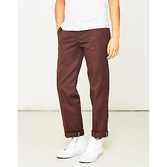 Dickies 873 slanke werk Pant Brown