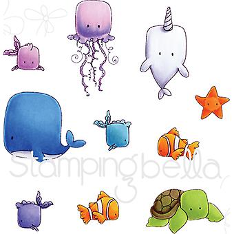 Stamping Bella Cling Stamp Set-Under The Sea EB535