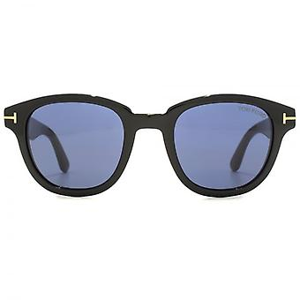 Tom Ford Garett Sunglasses In Shiny Black