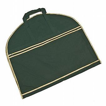 Green and Gold Deluxe Suit Carrier