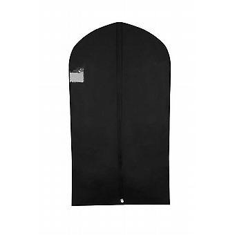 Caraselle Black Zipped Suit Cover with Gusset and Rear Pocket