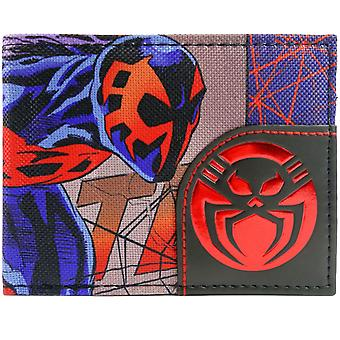 Marvel Spider-Man 2099 Character and Logo ID & Card Bi-Fold Wallet