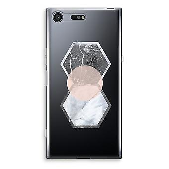 Sony Xperia XZ Premium Transparent Case - Creative touch