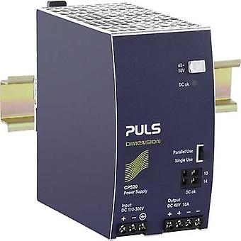 Rail mounted PSU (DIN) PULS CPS20.481-D1 48 Vdc 10 A 480 W 1 x
